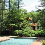 Uma casa, um lago, uma paisagem!