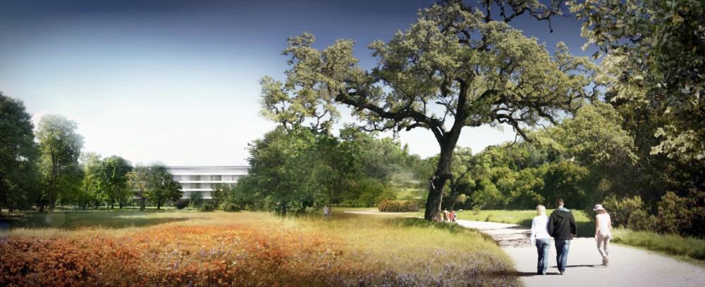 Novo campus Apple