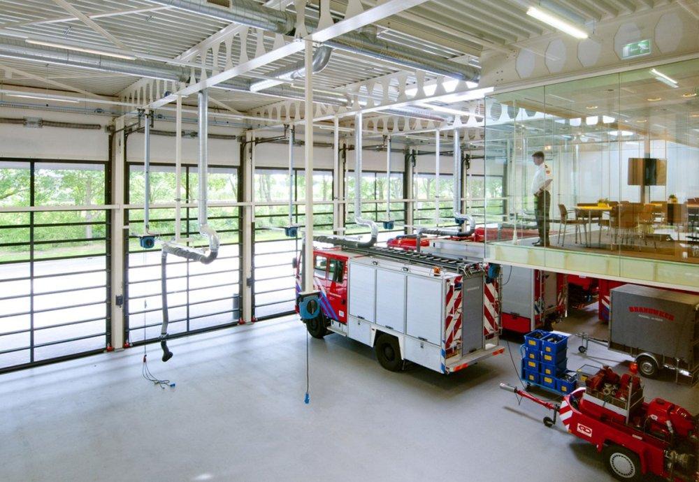 Quartel de bombeiros de Brandweer em Weert
